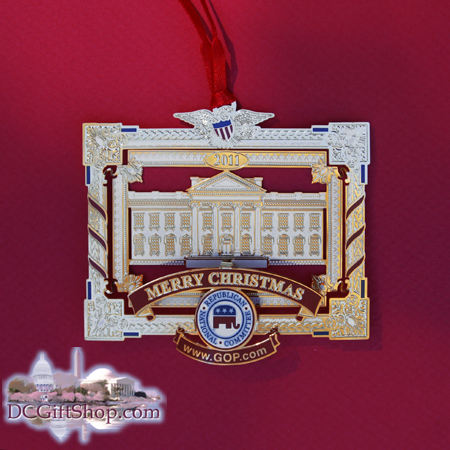 GOP Take Back the White House Ornament