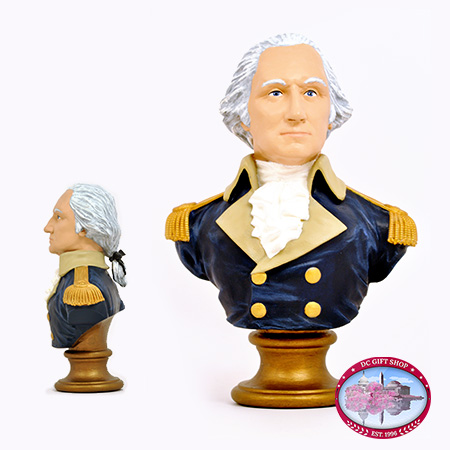 George Washington Bobblehead Bust