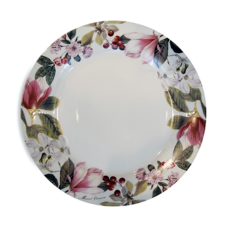 Martha Washington Garden Charger Plate