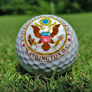 Great Seal of the United States Golf Ball