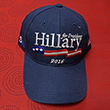 Hillary Clinton For President Blue Baseball Cap