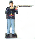 INFANTRY 1ST SGT. METAL FIGURINE