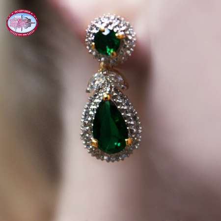 Jacqueline Kennedy Emerald Earrings