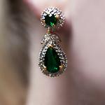 Jacqueline Kennedy Emerald Earrings