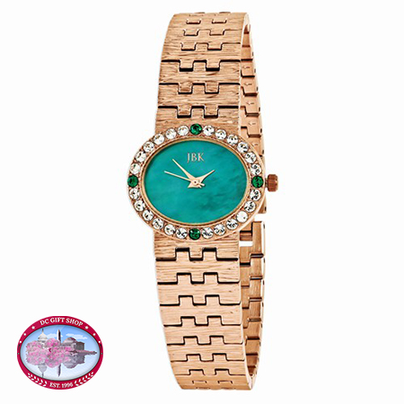 Kennedy 28x24mm Teal Adjustable 8in Dress Watch