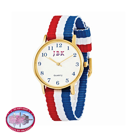 Kennedy American Flag Watch