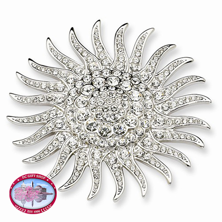 Kennedy Sunburst Pin