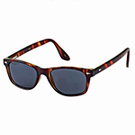 Kennedy Tortoise Look Rhodium-Plated Sunglasses