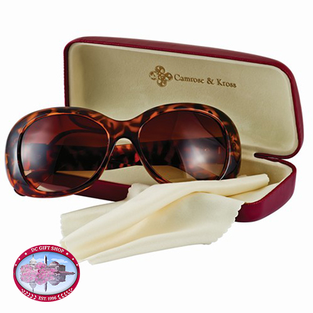 Kennedy Greek Key Accent Sunglasses
