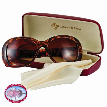 Kennedy Greek Key Accent Sunglasses