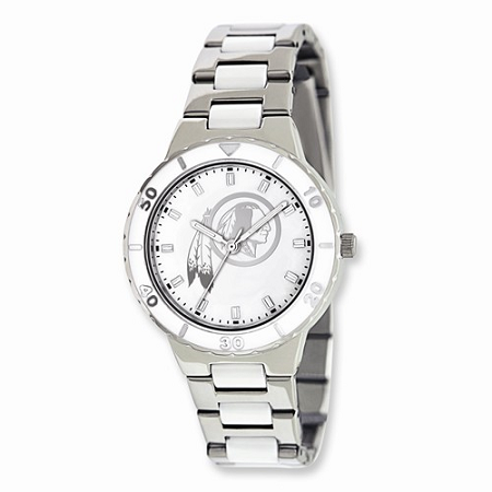 Ladies NFL Washington Redskins Mother of Pearl Watch