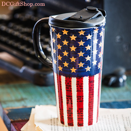 Liberty Ceramic Coffee Cup