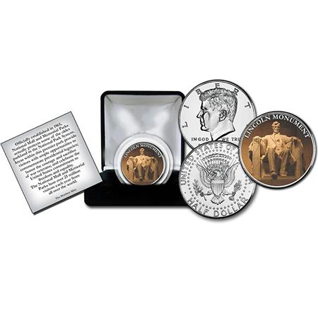 Lincoln Memorial Commemorative Coin