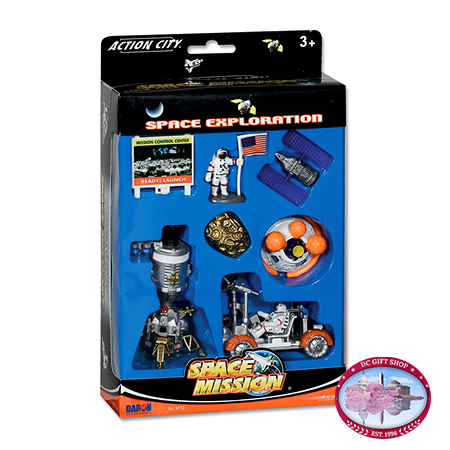 Lunar Explorer 8 Piece Playset