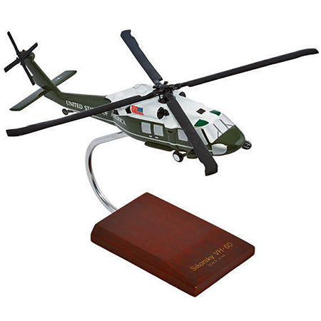 Marine One VH-3D Sea King Presidential Aircraft Helicopter 1:48