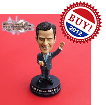 Vote 2012 Mitt Romney Bobble Head