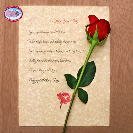 mothers day letter