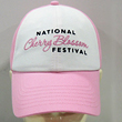 National Cherry Blossom Festival Hat (White/Pink)