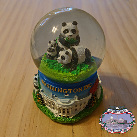 National Zoo Panda Snow Globe