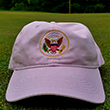 Pink Great Seal Golf Baseball Cap