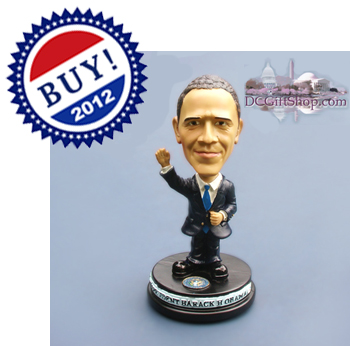 Vote 2012 Barack Obama Bobble Head