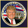 President Donald Trump Inauguration Coin