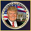 President Donald Trump Inauguration Coin