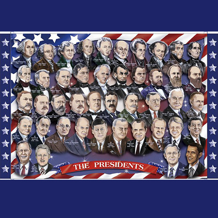 Presidents Floor Puzzle