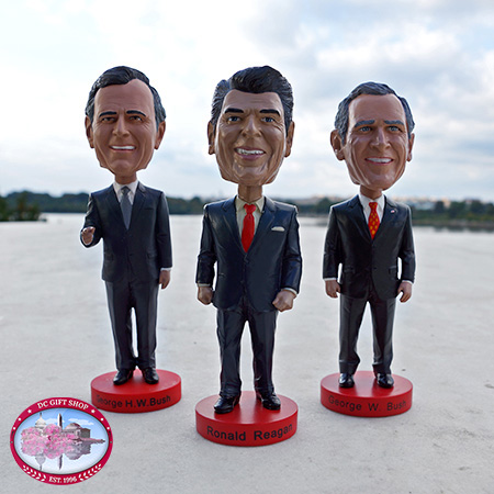 Reagan Bush Legacy Bobble Head Set