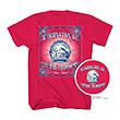 Red Jefferson Memorial Cherry Blossom Tee Shirt