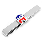 Republican Elephant Tie Bar