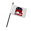 Republican Party Office Desk Flag