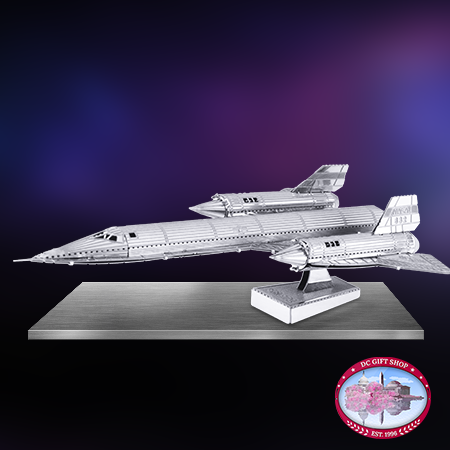 SR71 Blackbird 3D Laser Cut Model