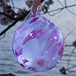 Glass Sakura Fairy Ball