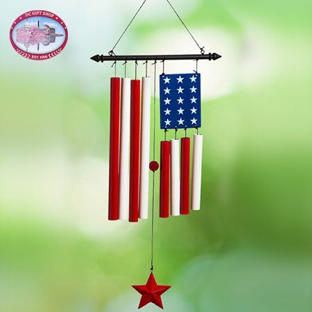 Show Your Pride Flag Windchime