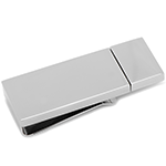 Silver 8GB USB Flash Drive Money Clip
