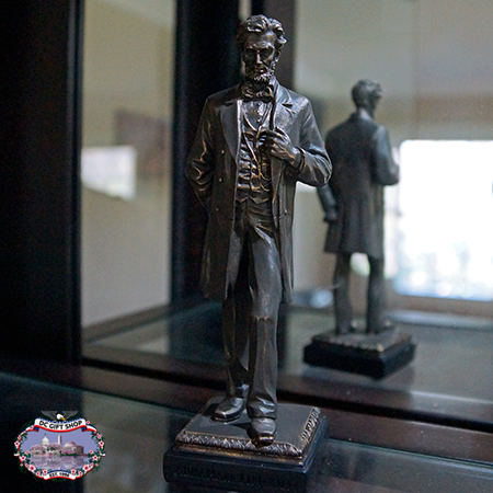 Bronze Standing Abraham Lincoln 7 inch Statue