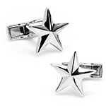 Sterling Star Cufflinks