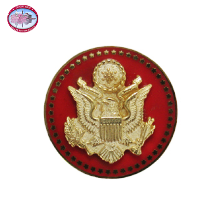 The Great Seal Lapel Pin - Red