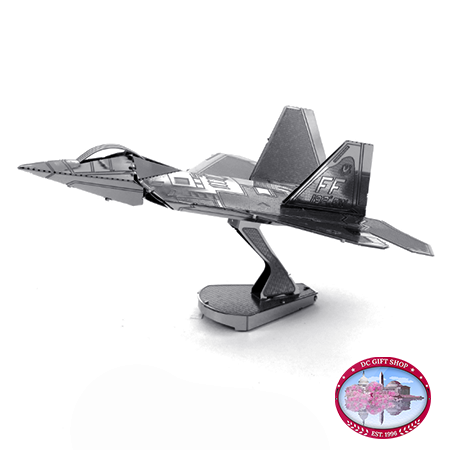 The Lockheed Martin F22 Raptor 3D Laser Cut Model