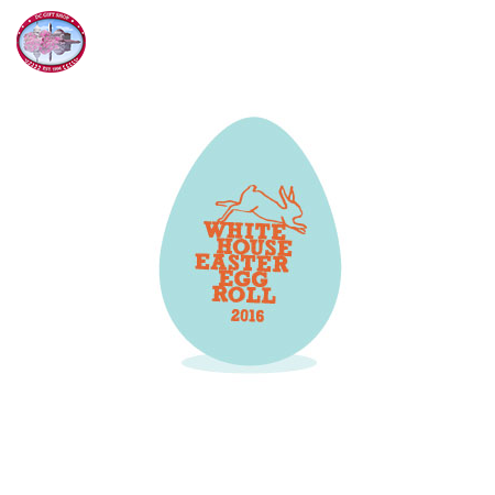 The Official 2016 Banquet Blue White House Easter Egg