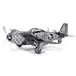 The P-51 Mustang 3D Laser Cut Model