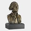 "Thomas Jefferson 6"" Bronze Bust"