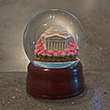 Thomas Jefferson Memorial Cherry Blossom Snow Globe
