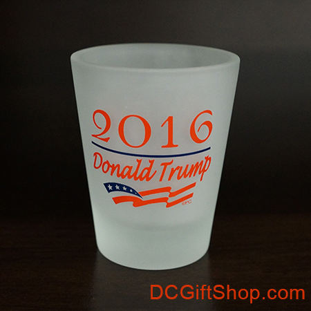 Trump for President Shot Glass