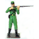 UNION SHARPSHOOTER METAL FIGURINE