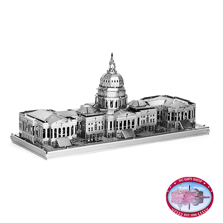 US Capitol 3D Laser Cut Model