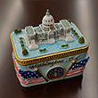 US Capitol Ceramic Trinket Box