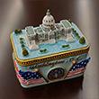 US Capitol Ceramic Trinket Box