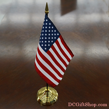 "4"" x 6"" US Government Office Desk Flag"